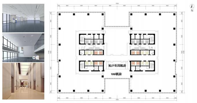 北京IFC大厦平面图