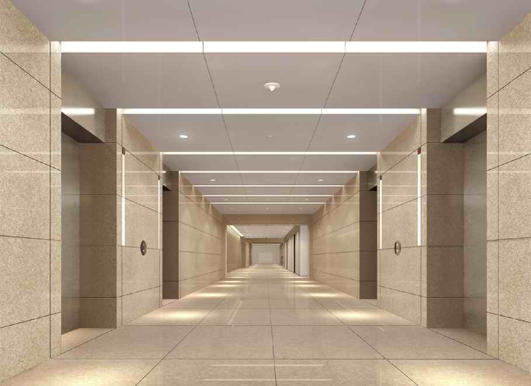 北京IFC大厦电梯间